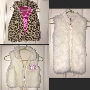 Other - girl's faux jacket bundle